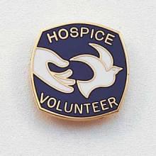 Hospice Volunteer Lapel Pin #154
