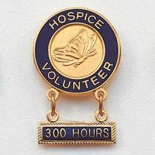 Stock Hospice Lapel Pin – Butterfly Design #157