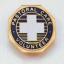 Stock Pastoral & Spiritual Lapel Pin – Cross Design #159