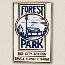 Village of Forest Park Lapel Pin #2000