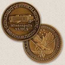 Custom Association Coin Medallion – Building Design #2004