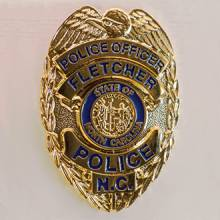 Fletcher Police Officer Lapel Pin #2009