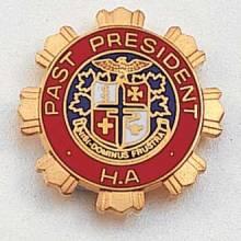 Stock Auxiliary Lapel Pin – AHA Logo Design #201