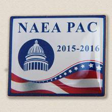 Custom Political Action Committee Lapel Pin – Capitol Building Design #2027