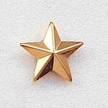 Small Beveled Star Lapel Pin #204