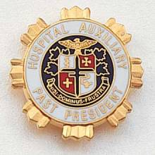 Stock Auxiliary Lapel Pin – AHA Logo Design #211-PP