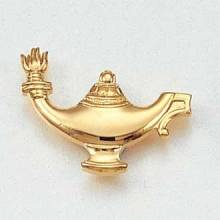 Stock Nursing Lapel Pin – Lamp Design #212