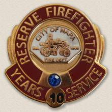 City of Napa Fire Department Years of Service Lapel Pin #3012