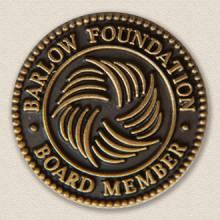 Custom Board Member Lapel Pin – Hospital Logo Design #4004
