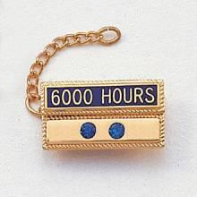 Stock Hour Attachment – 2 Gemstone Design #420-HG2
