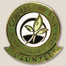 Cornerstone VNA Volunteer Lapel Pin #5000