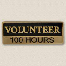 Custom ID Badge Holder – Volunteer Design #5016