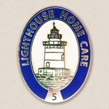 Custom Home Care Pin – Lighthouse Design #5033