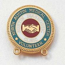 Custom Volunteer Lapel Pin – Hands Design #557