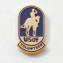 Custom Association Lapel Pin – Horse Design #563