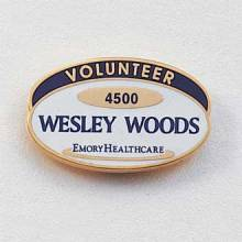 Custom Assisted Living Lapel Pin – Hospital Logo Design #567