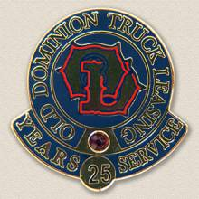 Old Dominion Truck Leasing Years Service Lapel Pin #6000