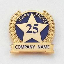 Semi Custom Lapel Pin – Years of Service Style #623