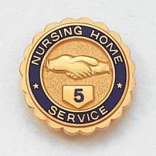 Stock Nursing Lapel Pin – Hands Design #636