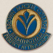 Custom College/University Lapel Pin – College Logo Design #7012