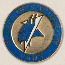 Elizabeth City State University Lapel Pin #7014