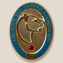 Cal State San Marcos Foundation Lapel Pin #7015