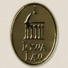 University of Iowa College of Law Lapel Pin #7016