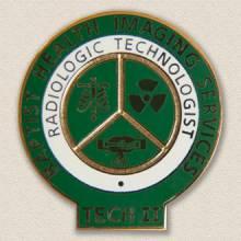 Custom Certification Lapel Pin – Radiology Design #7021