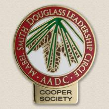 Custom College/University Lapel Pin – Pine Cone Design #7023