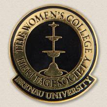Custom College/University Lapel Pin – School Logo Design #7024