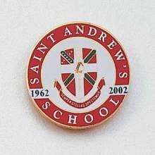 Custom School Lapel Pin – Shield Design #719