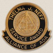 Custom Special Event Lapel Pin – Service Award Design #8034
