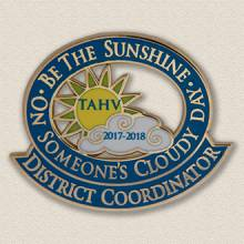 Custom Special Event Pin – Sun Design #8036