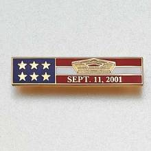 Custom Police bar Lapel Pin – Pentagon Design #872