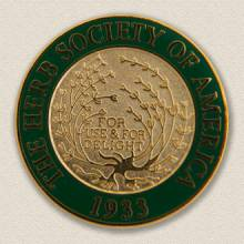 Custom Association Lapel Pin – Herb Design #9014