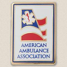 Custom Association Lapel Pin – Ambulance Design #9020