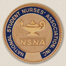 Custom Association Pin – Nursing Lamp Design #9032