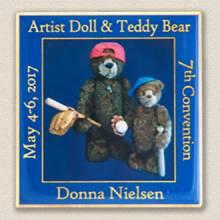 Custom Special Event Lapel Pin – Teddy Bear Design #9035