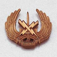 Custom Police Lapel Pin – S.W.A.T. Design #947