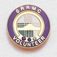 Custom Volunteer Lapel Pin – Hospital Logo Design #960