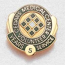 Custom Healthcare Lapel Pin – Hospital Logo Design #961