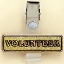 Stock ID Badge Holder – Volunteer Design #B-1