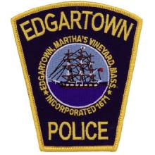 Custom Police Embroidered Patch – Tall Ship Design #CE-1