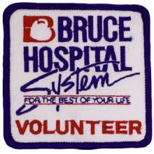 Custom Volunteer Embroidered Patch – Hospital Design #CE-35
