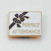 Stock Excellence Lapel Pin – Perfect Attendance Design #647