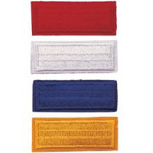 Stock Embroidered Bars – Solid Design #P-1012