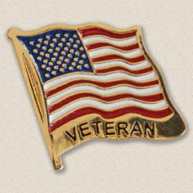 Veterans Flag Lapel Pin #2012