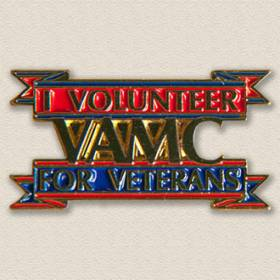 Stock Veterans Lapel Pin – VAMC Design #2024