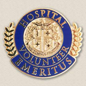 Stock Volunteer Lapel Pin – Emeritus Design #5029
