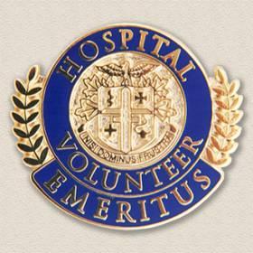 Stock Volunteer Lapel Pin – Emeritus Design #5029